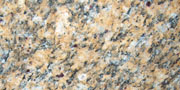 giallo santa cecilia granite sample